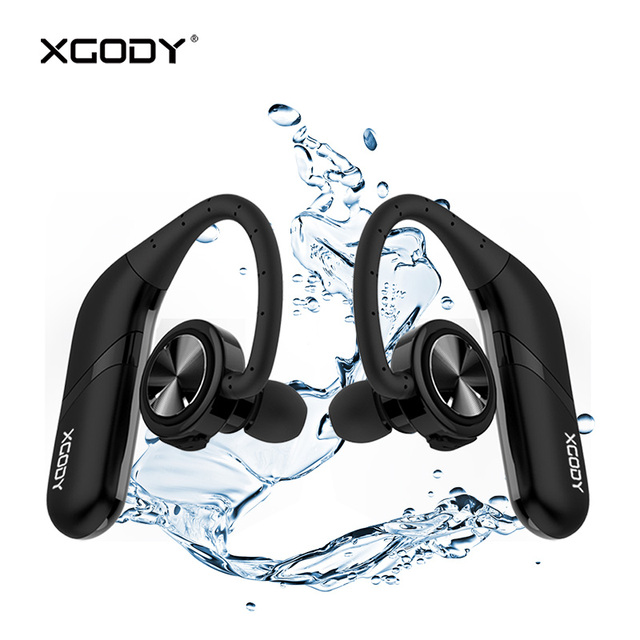 35ae8bee2a1b1e Origional XGODY S800 TWS HiFi Wireless Earphone Bluetooth V5.0 Stereo Sound  Earbuds with Mic Handsfree In Ear Headset Waterproof