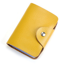 Wholesale Credit Card Holders Vintage Split Leather Large Capacity Travel Case Organizer Purses High Quality Unisex Wallet
