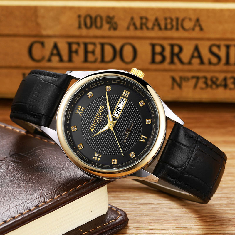 New Fashion Business Quartz Watch Men Watches Top Brand Luxury Famous Wrist Watch For Men Hodinky Male Clock Relogio Masculino стоимость