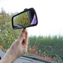 купить universal clear view baby car mirror car rearview mirror with Sucker for all of car free shipping по цене 1306.76 рублей