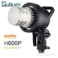 В наличии Godox H600P головка вспышки Bowens Off вспышка, ручной расширения голову для Godox WITSTRO AD600Pro AD600 Pro флэш Strobe