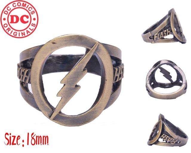 Кольцо с логотипом Флеш DS Comics