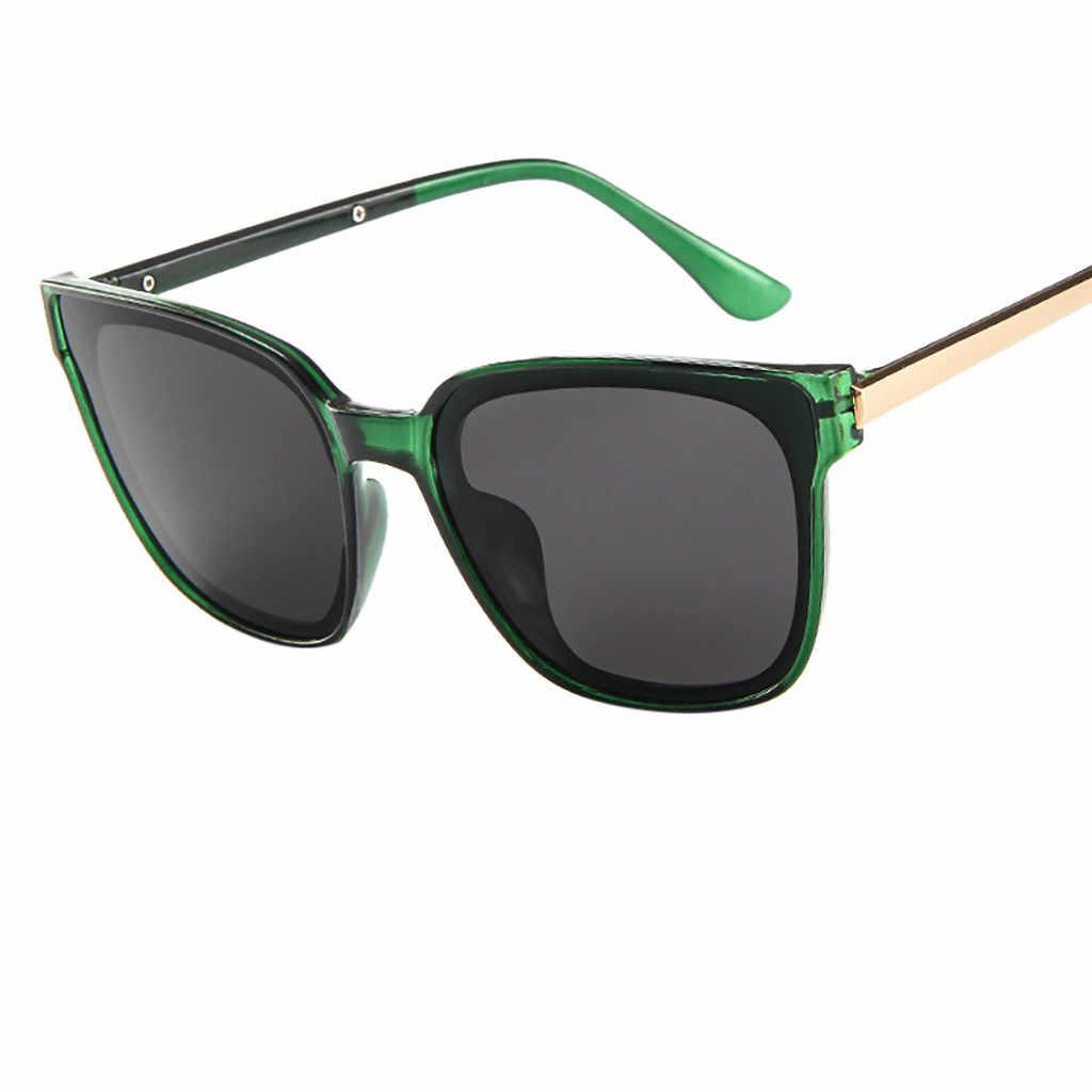 9511b9fd73 Alta calidad 2019 femenino gafas de sol polarizadas nuevas para las mujeres  lente de espejo de