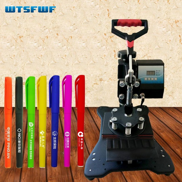 Wtsfwf Plastic Pens Heat Press Printer Heat Press Printer Machine for Plastic Pens