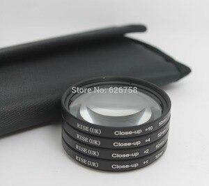 Image 3 - Evrensel RISE (İNGILTERE) 52mm + 1 + 2 + 4 + 10 Lens Yakın çekim Yakın Çekim Makro Dairesel Filtre Için pentax Sony Canon Nikon