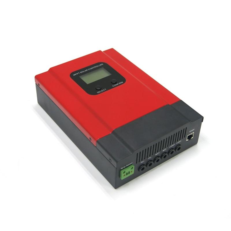 12V/24V/36V/48V auto 20A LCD MPPT solar charge controller for off grid system v