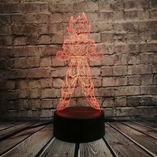7 Dragon Ball 3D Table Lamp