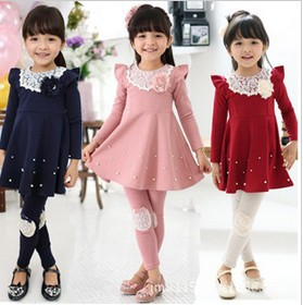 Wholesale Newest Spring fall Kid clothing Baby Toddler Girl's ...