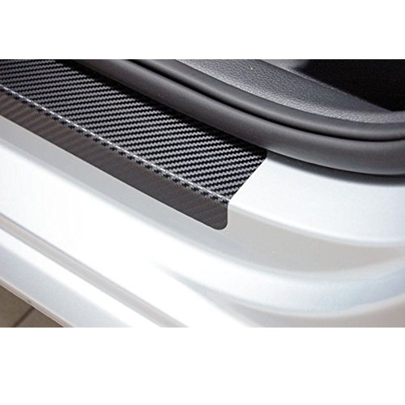 Door Threshold Plate Door Entry Guard Door Sills Door Sill Scuff Plate For Ford RANGER (Red/Blue/White)