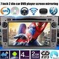 AM FM RDS 2 Din 7 polegada Android 6.0 rádio Do Carro DVD player GPS Para V/O auxhall/pel Astra H G J Vectra Antara Zafira Corsa Wi-fi