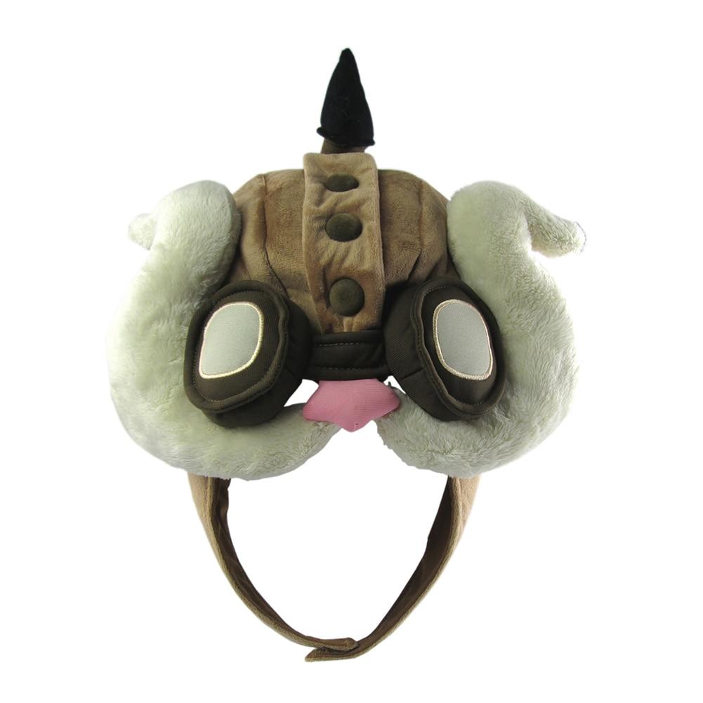 Apparel Accessories 2018 Lol Corki Hat Warm Winter Thicken Hats Cute Lol Hero Kuchi Cosplay Cap Men Women Airplane Plush Hats New Unisex Warm Hats