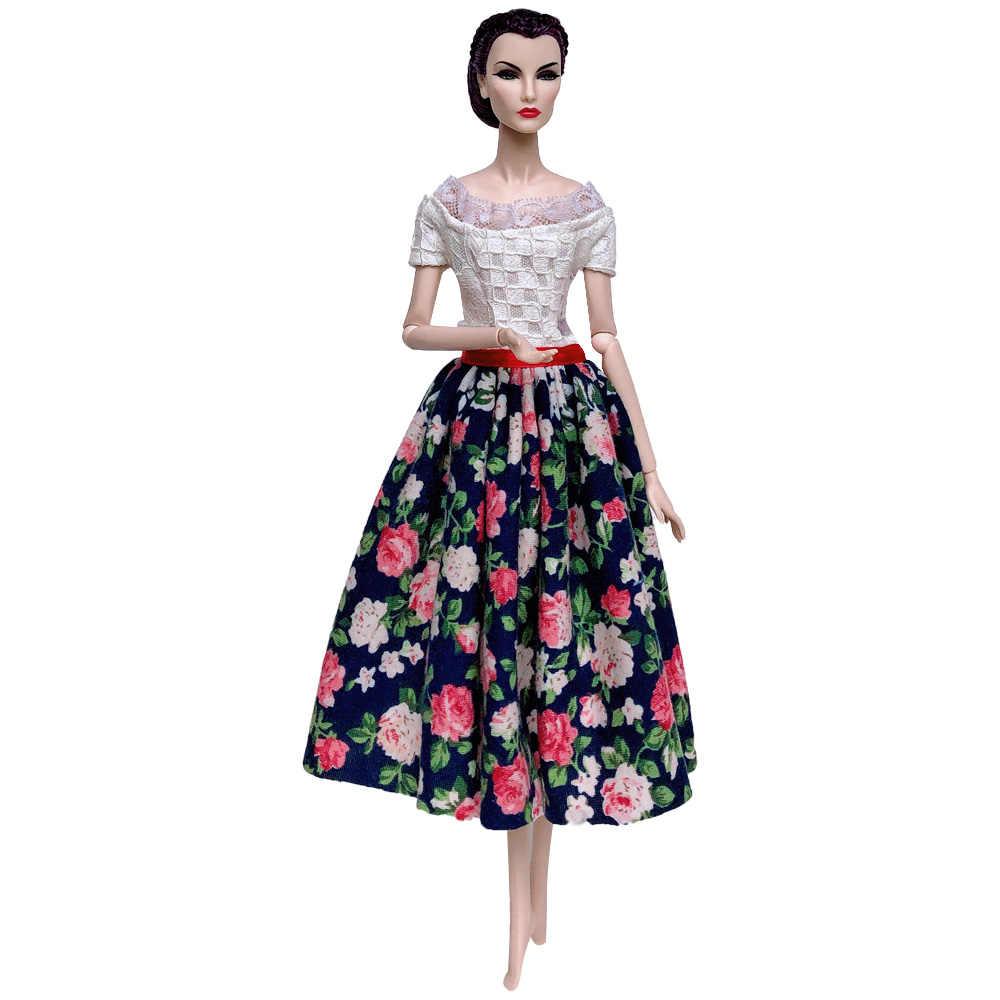 NK Mix/Новейшая одежда куклы, платье, модная юбка, вечерние платья для куклы Барби, аксессуары, детские игрушки, подарок для девочки 065A JJ