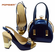 6fd429ab2d Blue Italian Shoes with Matching Bags Promotion-Shop for Promotional ...