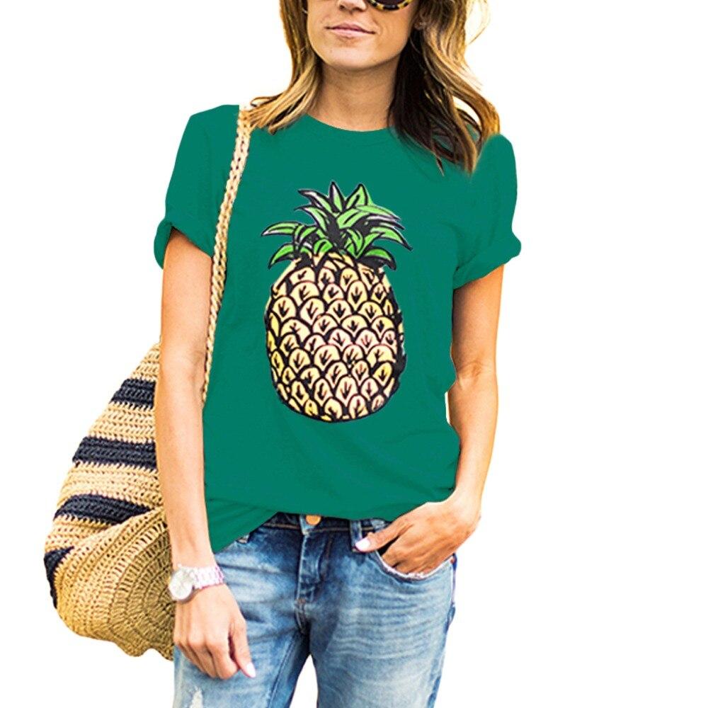 Gepäck & Taschen 2018 Neue Frauen Tank Tops Ananas Gedruckt Casual Tank Mode Sommer Rosa Femme Weste Lose Damen Tops T-shirt
