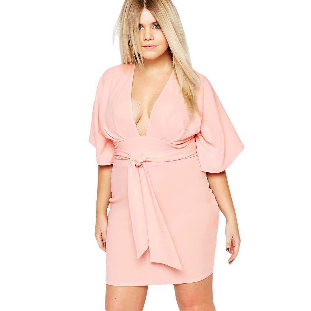 Vestidos De Fiesta Limited Promotion Solid Office Dress Women ...
