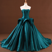 HIRE LNYER Green Red Blue Ball Gown Wedding Dresses With