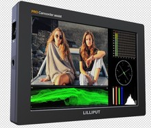 "Lilliput Q7 PRO 7 ""Full HD Kamera Monitor mit neue 3 DLUT HDR mit SDI und HDMI Kreuz Umwandlung metall Gehäuse"