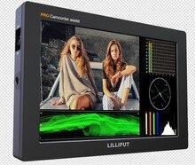 "Lilliput Q7 PRO 7 ""Full HD kamera monitörü ile yeni 3 DLUT HDR SDI ve HDMI Çapraz Dönüştürme ile Metal konut"