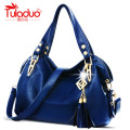 TULADUO 2016 Hot Selling Quality PU Leather Tassel Bag Shoulder Bags Women Messenger Bags Women Handbag Women Leather Handbags