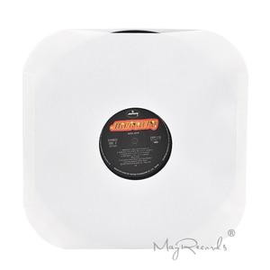 Image 3 - 20 高品質ヘビー級酸送料ホワイトクラフト紙内側の 12 Lpレコードと穴と角丸