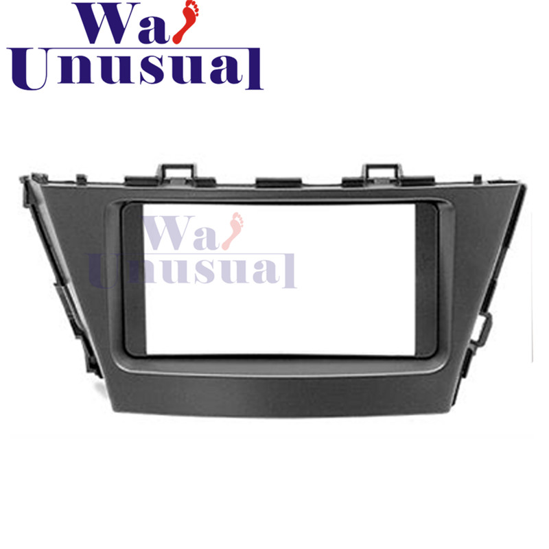 2 din top quality car radio fascia panel for toyota prius. Black Bedroom Furniture Sets. Home Design Ideas
