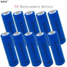 2019 Ni-MH 1.2V 2300mAh AA Rechargeable Blue Nickel-metal Hydride Battery 14mm*50mm gp batteries nickel metal hydride series 970 mah