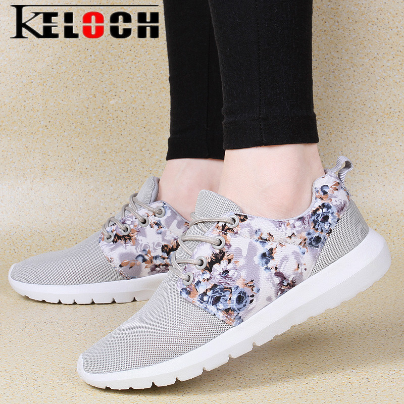 Keloch New Arrival Mesh Shoes Woman Breathable Summer Casual Shoes Comfortable Walking Sneakers Women Fashion Flats Shoes
