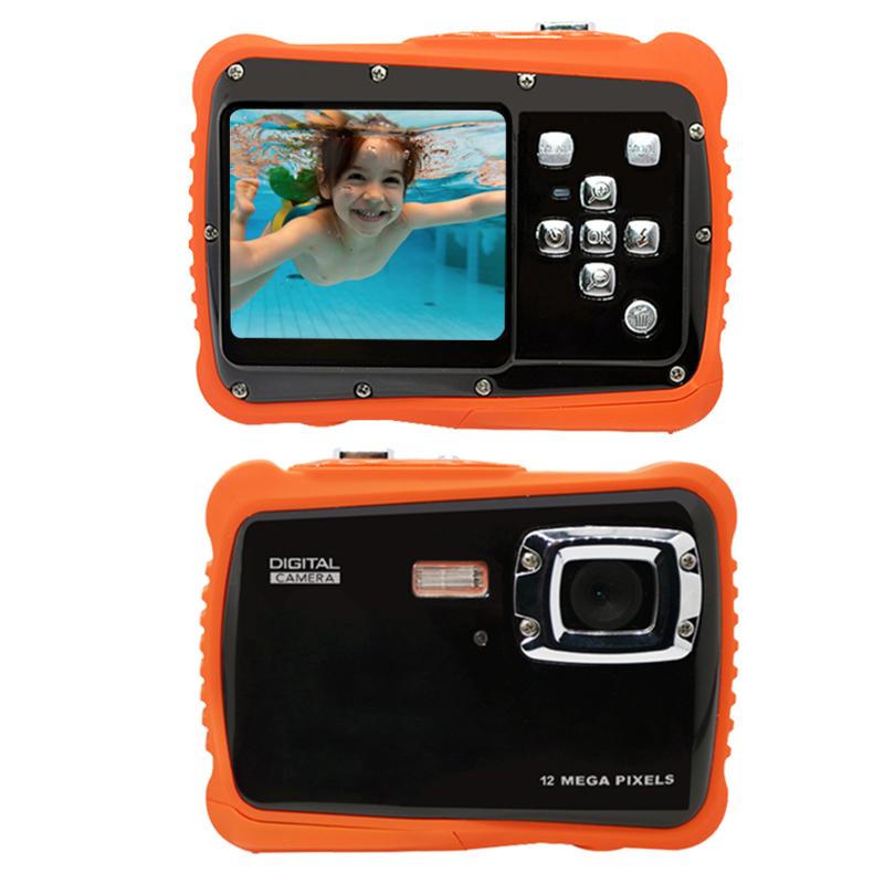 GEEKAM Waterproof 5MP 2.0 inch LCD HD Digital Camera Children Kids Birthday Gift Camera Sports Mini Camera For Children Swimming (3)