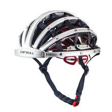 Cairbull cidade dobrável capacete de bicicleta de estrada ciclismo bicicleta portátil capacete de equitação homem de corrida in-mold lazer equitação capacete