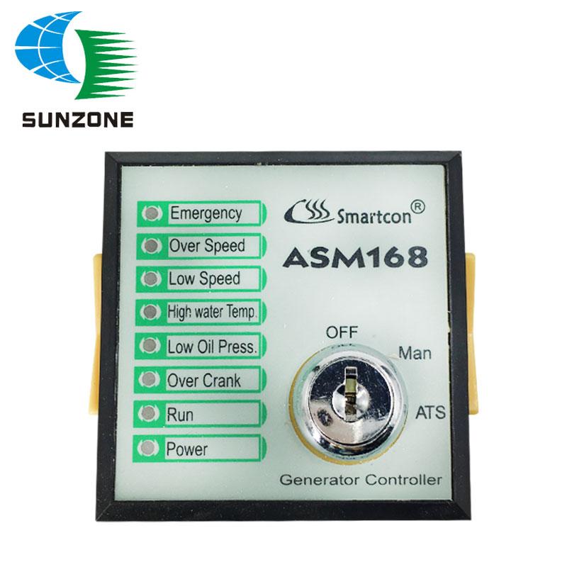 Generator Controller ASM168 ASM-168 Key Start Genset Controller Module GTR-168 GTR168 new smartgen controller genset controller generator controller hgm1770
