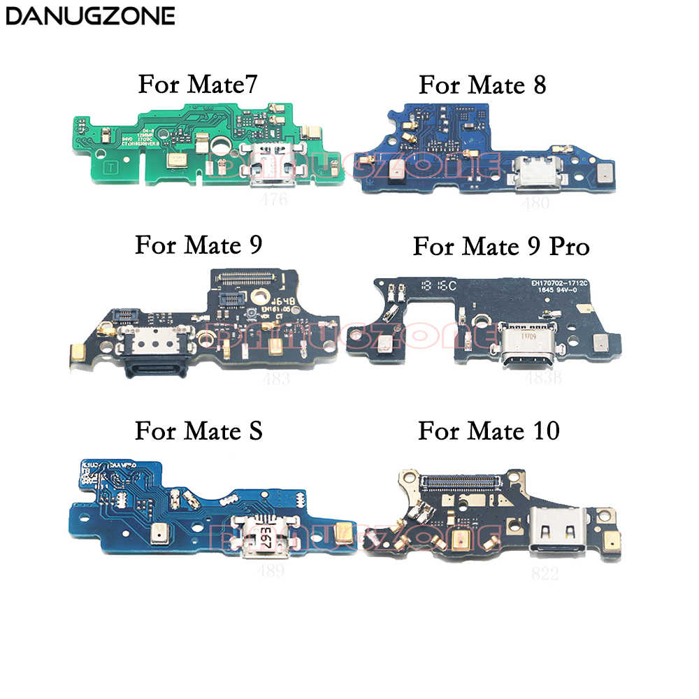 detail feedback questions about usb charging port jack dock connector charge board flex cable with microphone for huawei mate 10 8 9 pro s 7 mate10 lite  [ 1000 x 1000 Pixel ]
