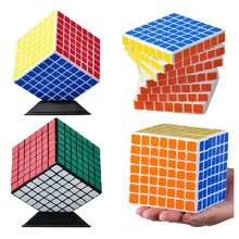 ShengShou Mini 7x7 Puzzle Cube Professional PVC&Matte Stickers Cubo Magico Puzzle Speed Classic Learning & Educational Toy shengshou 9x9x9 puzzle cube professional pvc