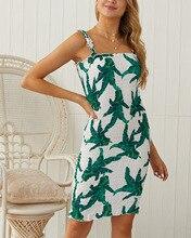 Women Summer Casual Short Sleeveless Evening Party Mini Dress