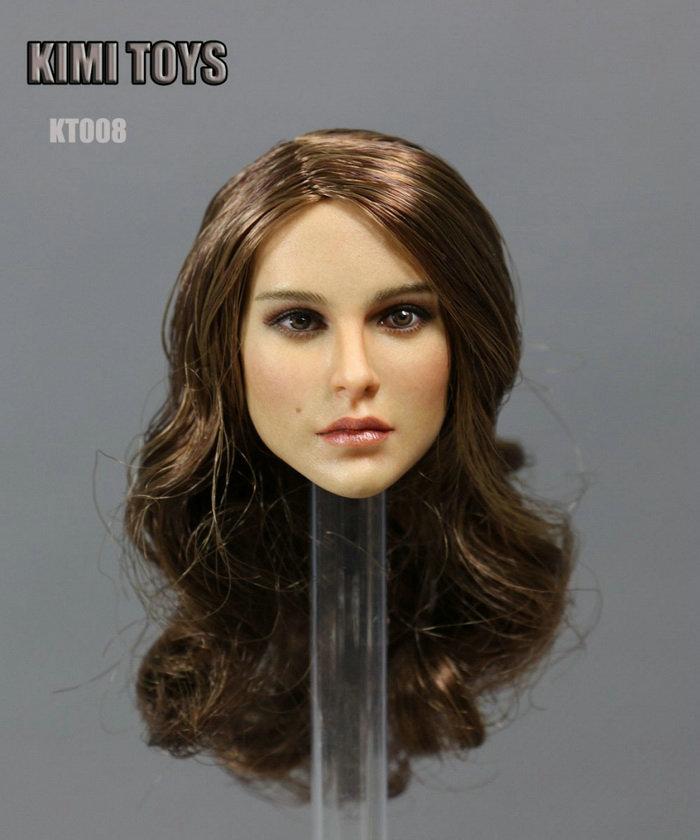 "1//6 Scale Big Bust Seamless  12/"" TBLeague S06 Female Body Figures W Head Model"