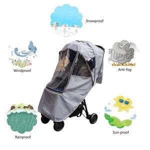 Image 5 - Bebek arabası yağmurluk kapak arabası şemsiye araba yağmur kılıfı bebek arabası cam arabası aksesuarları arabası aksesuarları