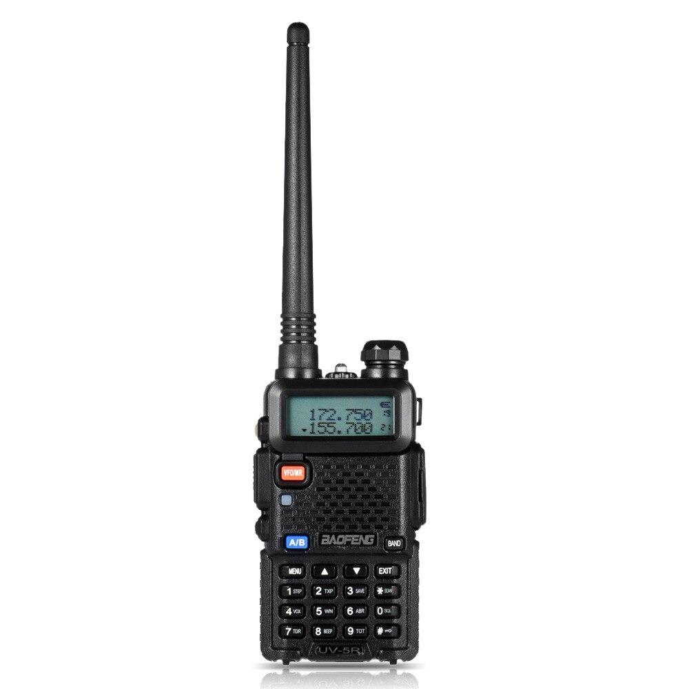 BF-UV-5R Baofeng Talkie Walkie Deux Voies Cb Radios Manuel Fréquence Modulation de Talkie Walkie 10Km Rechargeable Hf Émetteur-Récepteur