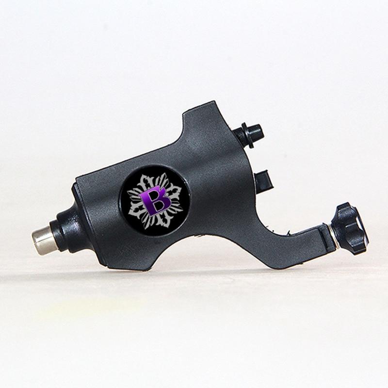 Newest bishop cheap rotary tattoo machine black tattoo gun for Cheap rotary tattoo machine