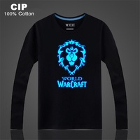 CIP 100 Cotton Neon Alliance WOW Clothing Kids Tees Boys Girls Long Sleeve T Shirts Baby