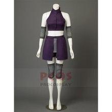 Женский костюм для косплея «Наруто Яманака Ино» фиолетовый сетчатый