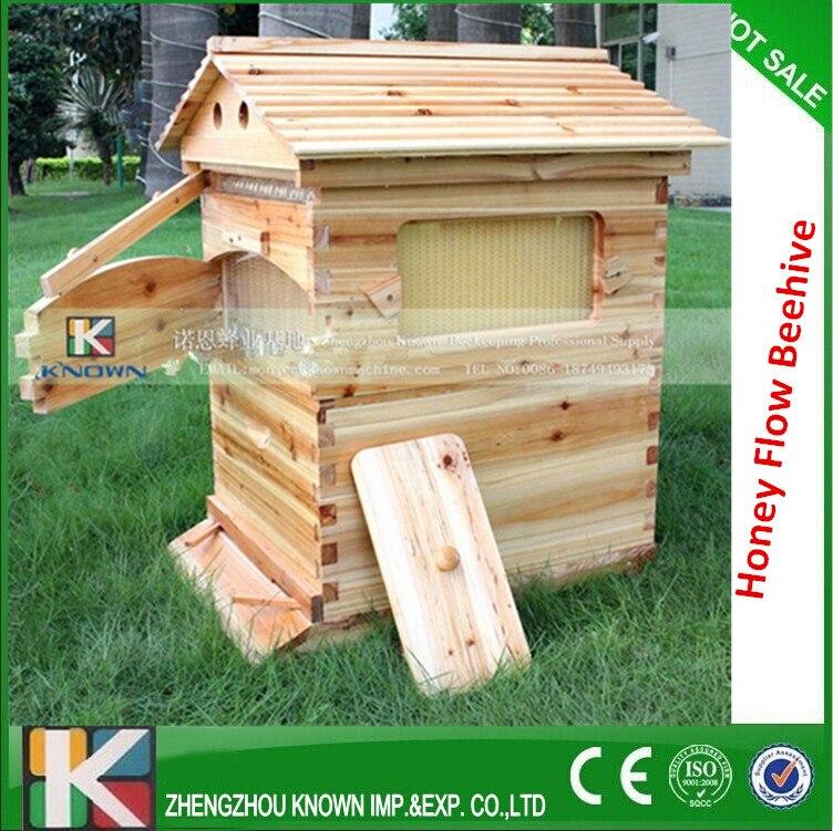free-flowing langstroth beehive of wooden beehive from beehive automatic honey beehive langstroth bee flowing hive box