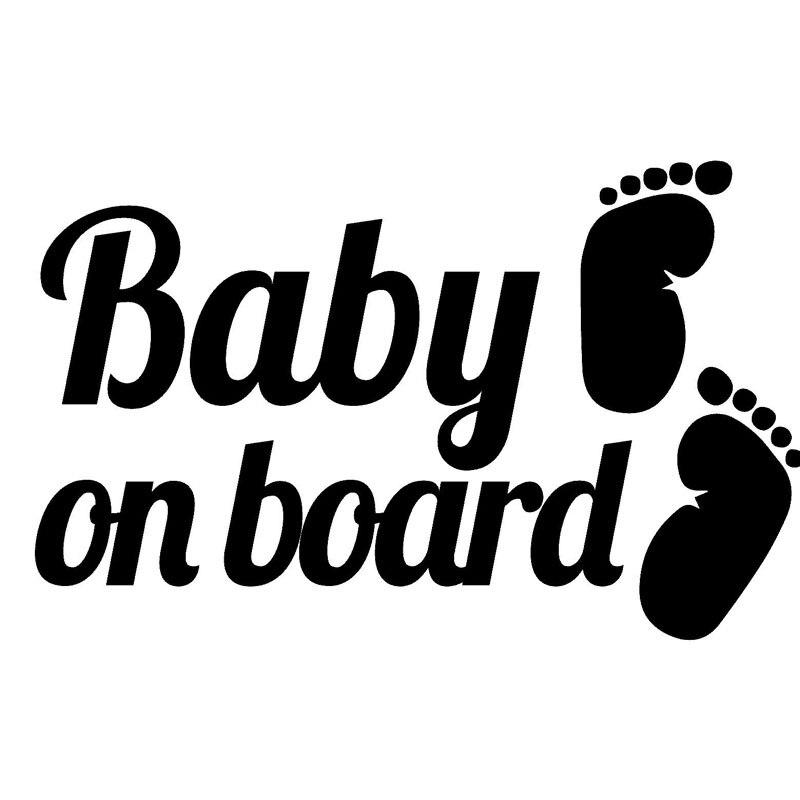 Bébé à Bord Autocollant Voiture Van Fenêtre Pare-chocs garçon fille pour Bébé Maman Papa Visage Bébé