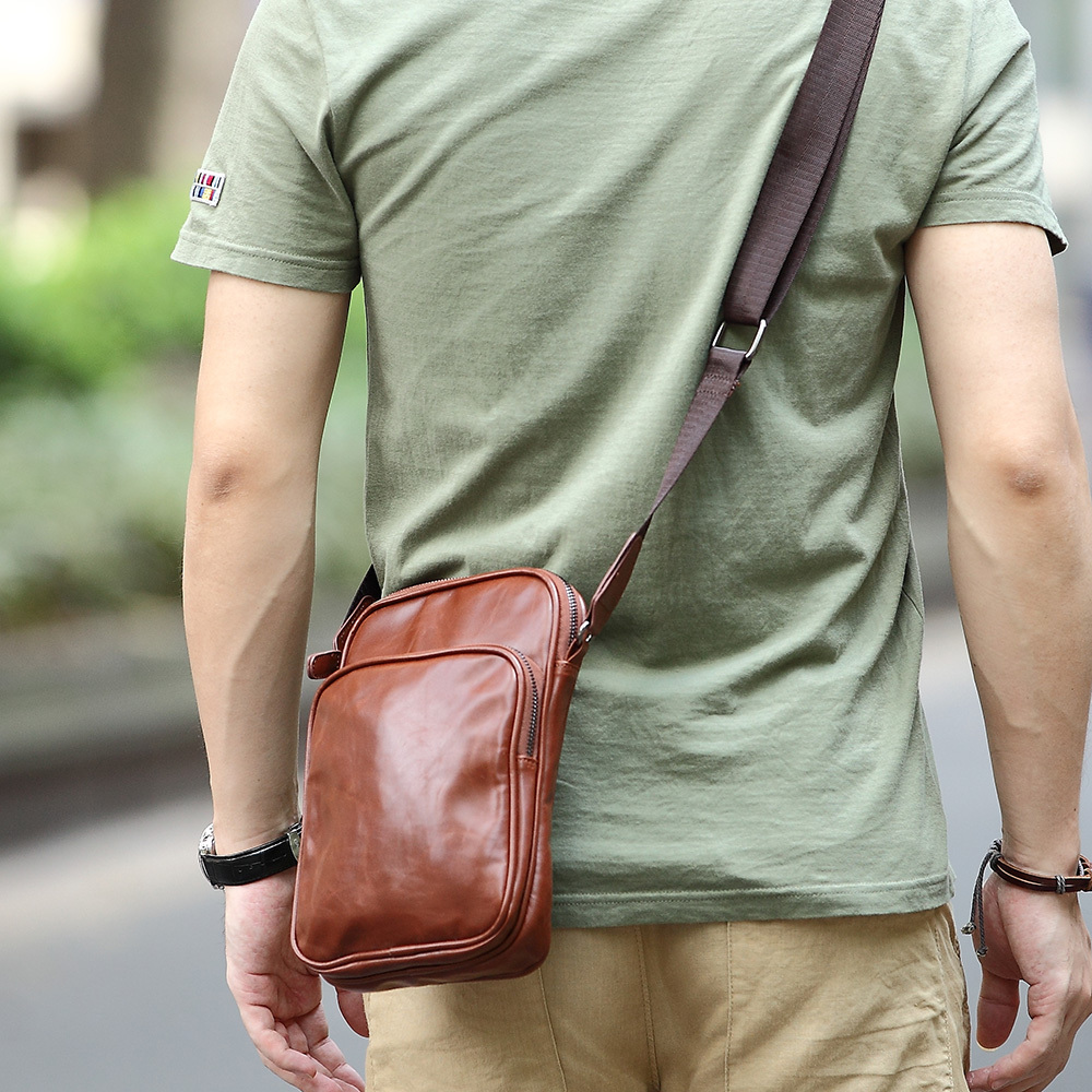 Hot Selling Ourdoor Men Bag men messenger bags small pu one ...