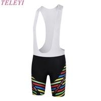 TELEYI Women Mountain Bicycle Ciclismo MTB Bike Sportswear Breathable Gel Bib Short Bike Team Cycling Short