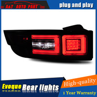 Car styling Accessories for Land Rover Evoque rear Lights led TailLight for Evoque Rear Lamp DRL+Brake+Park+Signal lights led