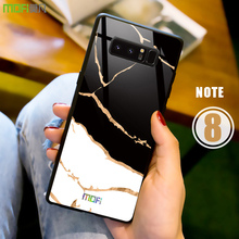 MOFI Marble Tempered Glass Case for Samsung Galaxy Note 8