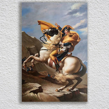 Famous painting napoleon  Figure Painting Unframed Classical Hand Painted Canvas Art Oil Paintings wall art