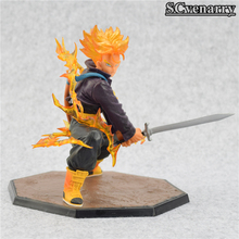 DBZ Super Saiyan Trunks Battle Version Action Figure 6′ 14cm