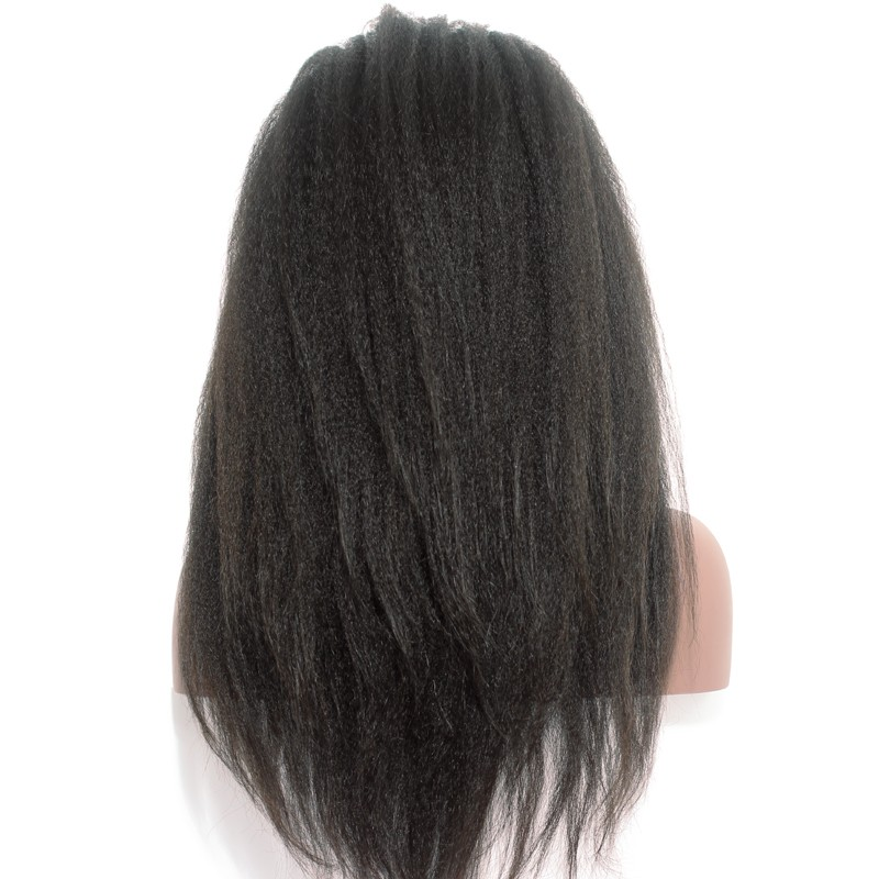 360 Lace Frontal Wig Human Hair Brazilian Kinky Straight Lace Front Human Hair Wigs For Women Pre Plucked Comingbuy Remy