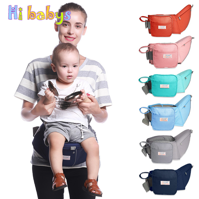 Baby Carrier Waist Stool Baby Sling Hold Waist Belt Large Capacity Double Storage Bag Backpack Hipseat Belt Kids Infant Hip Seat