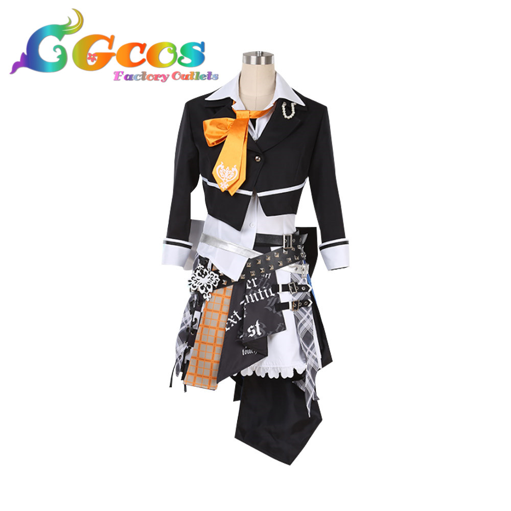 Cosplay Costume 3rd Anniversary THE IDOLM@STER CINDERELLA GIRLS starlight stage Dresses Clothes CGCOS Free Shipping DM370 2